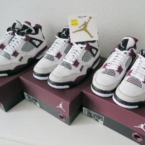 Nike Air Jordan 4 Retro Paris Saint German 🇫🇷  DSWT Alt og Fast pris / acceptere ikke bud Str 40 /42.5 / 44.5  Sendes double boxed.   Smid en besked for spørgesmål eller resten af pics. 100s of refs ✅