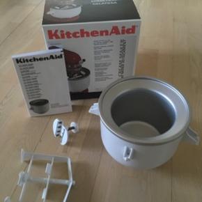 Fin isskål til KitchenAid. Har været brugt en enkelt gang, fremstår som ny.