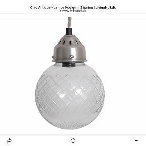 Chic Antique loftslampe