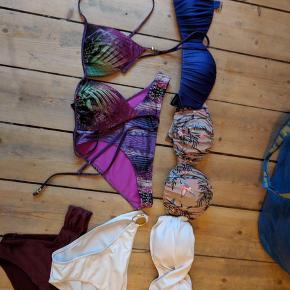 🦋✨ Skønne bikinier sælges - de fleste af dem aldrig brugt. Se nedenfor for størrelser.  Sæt koster 50 kr. De løse dele koster 25 kr. Pr stk   🌍 Afhentes på Nørrebro  💌Kan sendes med DAO (36 kr.)