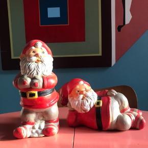 Stort par - sælges kun samlet.  Har en del julepynt til salg - giver god mængderabat