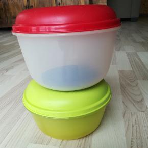 Crisper/ Rundlet skåle m låg og rist Særligt gode til salat og grønsager 1 stk 1,5 L  1 stk 2 L