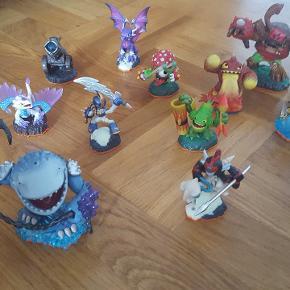 Skylanders spil til Wii, konsol og 12 figurer, sælges samlet