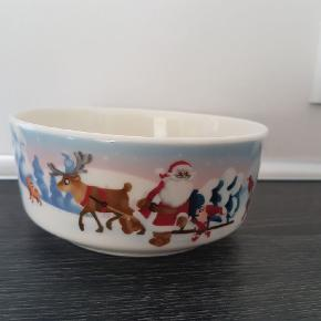 Arabia juleskål  15cm  Ny  Sælger også klarborg nisser  Jul