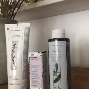 Helt nyt og ubrugt og uåbnet økologisk hudpleje fra Korré. Sælges samlet for 150 kr. Shampoo, balsam og deo. 🌱♻️💚  Afhentes Nørrebro 🌍 Eller sendes 💌
