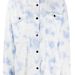 Smuk og blød bomuldsskjorte fra Isabel Marants sommerkollektion. Købt i Paris i foråret 2020. Aldrig brugt og helt som ny