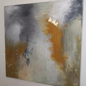 Er du på udkig efter kunst så kig her. Maleriet måler 100x 100 cm, kan hænge med eller uden ramme. Malet af Art By Rohmann. Malerier kan også males på bestilling efter ønske om farve og mål. Pris er plus levering
