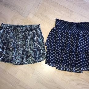 Nederdel fra Divided eller shorts fra Forever 21, begge dele rigtig fine. Sælges samlet eller hver for sig.