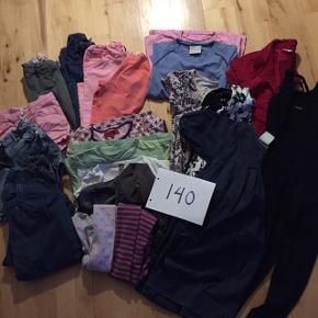 Tøjpakke til pige, str. 140