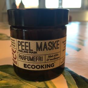 Peel Maske fra ECOOKING 50 ml  Butikspris 269,-  Prisen er fast! - til gengæld sparer du mere end 30% 🤩  Og køber du 3 eller flere ting fra min shop, giver jeg 10% ekstra i mængderabat! 🤑 Så shop amok 🤩🥳