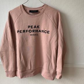 Peak Performance sweatshirt Størrelse XS God stand  Instagram? Katharinalind_