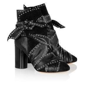 Isabel Marant støvler. Aubrey studded leather suede ankle boots. Brugt 4-5 gange  Original kasse medfølger
