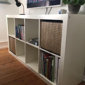KALLAX reol i hvid fra IKEA. Rigtig fin stand