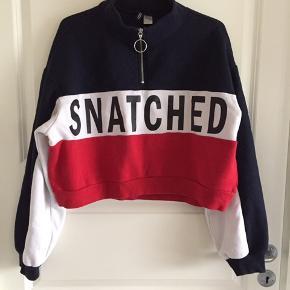 Str L Cropped sweatshirt  Brugt 3-4 gange