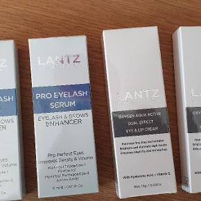 Lantz pro eyelash serum og lip creme sæt