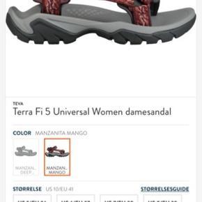 ☀️Teva dame-sandal, str. 41, næsten ikke brugt.🍀