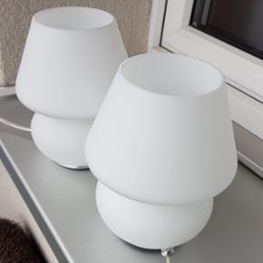 Lampes table de nuit comme neuves