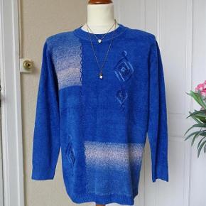 Gler Varetype: Flot  bluse  *NY* Brm. 120 Farve: Blå Oprindelig købspris: 498 kr.  Flot Bluse med lange ærmer sælges,       Bytter ikke.  Brystmål: 60x2 Talje 60x2 Hofter: 60x2 Længde: 70 Materiale: 65 % Cotton 35 % Polyester