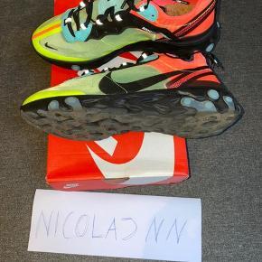 Nike React Element 87 volt/mango Str 43 - fitter mere som 42,5 Købt på Stock X for 1 år tilbage Mp 1000 Bin 1200