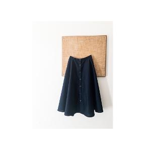 Vintage nederdel med vidde.