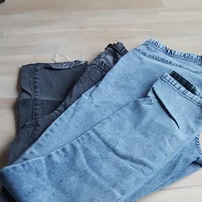 2 par jeans leggings str 46