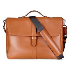 Ecco Lars briefcase  Nypris: 3000 kr  Bud er velkomne   _______________ Computertaske  Business
