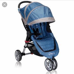 Baby jogger mini  Ubrugt og fortsat i original emballage  Dark blue/grey