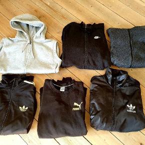 God Tøjpakke Forskillige mærker. Alle str L  undtagen puma blusen som er en str XL. Nogen er lettert fnulret i stoffet andre fejler intet, sælges samlet til 250 kr+ fragt