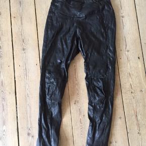 Læder leggings/bukser