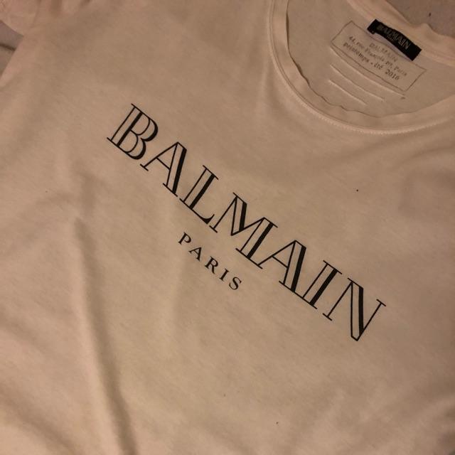 Balmain T Shirt | DBA billigt og brugt herretøj