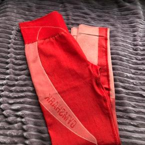 Gymshark Turbo Seamless Leggings - Brick Red 🌟 Aldrig brugte, kun prøvet på.  Rigtig god kvalitet og squat prof 💫