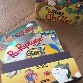 Åh Abe! cd samlingen - de skønneste børnesange. Velholdt. 7 cd'er - Randers