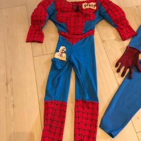 Spidermanudklædning 3 år