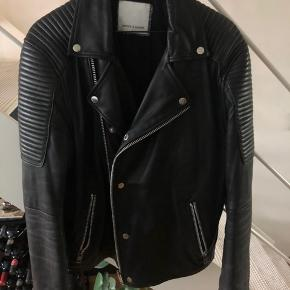 Purchased for DKK 3000. Haven't been used in 3 years. Great leather jacket though!