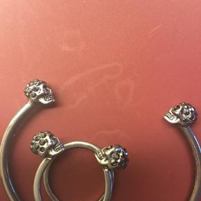 Set of bracelet and ring from Alexander McQueen . Size small / ring size 13