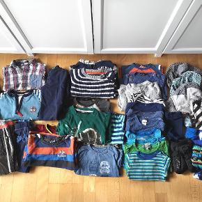 Tøjpakke til dreng str. 74-104 ☺️