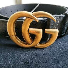 Helt Nye Gucci Full Grain - leather bælte 4cm STR 95 EU Med kvittering   God pris for afhentning i Aalborg  eller kan sendes med dao :)