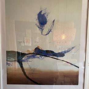 Overvejer at sælge denne smukke plakat fra Aros. Sælges uden ramme, måler 70x100. Er lettere krøllet i bunden, se billede 3