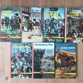 7 bøger fra Gyldendals uddødelige serie