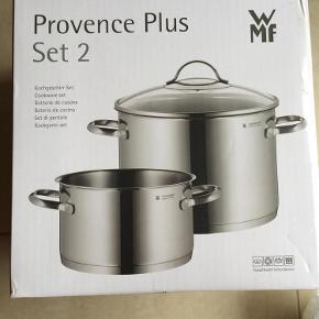Aldrig brugt - Provence Plus Set 2. Porto er ca pris. Stor mængderabat ved køb af flere ting på min profil.  Gryder Farve: Grå