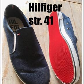 Tommy Hilfiger str. 41 Indv. sål 26,5 cm  Gls 35kr