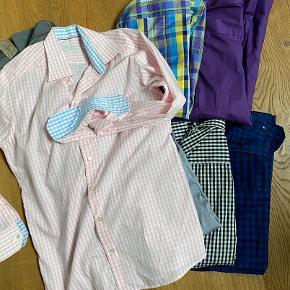 8 lækre Eton skjorter sælges samlet for 600,- Køb 1 stk. 120,-  Alle str. 42, slimfit