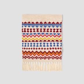 Flot stor strik tørklæde