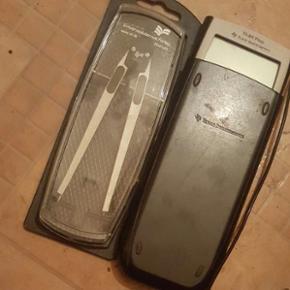 Lomme regner TI84 plus med ubrugt skole passer. Lommeregneren har hjulpet meget i Gym.