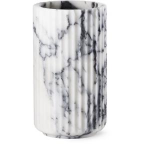 Lyngby jubilæumsvase - hvid marmor - 20 cmOriginal emballage  Aldrig pakket ud