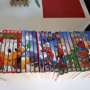 12 kr. pr bog. Ved køb af alle bøger kan prisen forhandles.   Der er flere bøger, end der er vist på billedet, som kan sendes billeder af særskilt, hvis det ønskes.