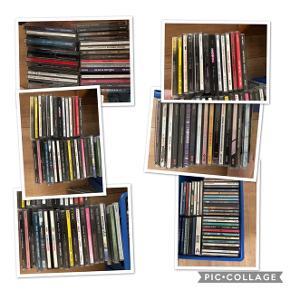 Mange forskellige cd'er 5 kroner stykket  Kan sendes