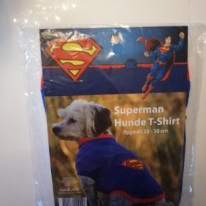 Superman Supermand Julegave Juletøj Hunde t-shirt