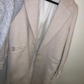 Flot uld jakke fra mango!  Ingen slidtegn!  Skriv gerne for flere billeder  BYd