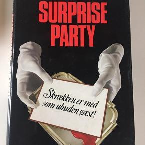 Suprise party af William Katz  Læst en enkelt gang, få ridser på omslaget